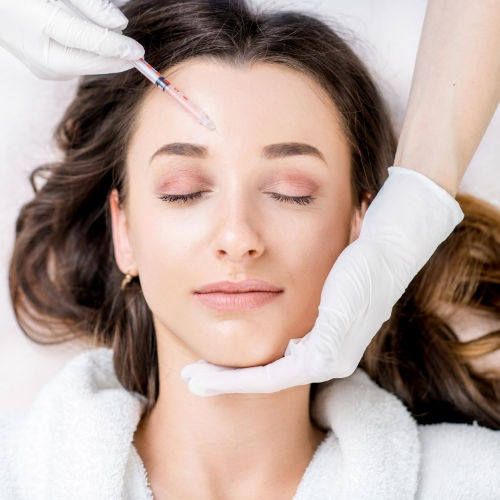 Upper face anti-wrinkle treatments in Brighton & Seaford