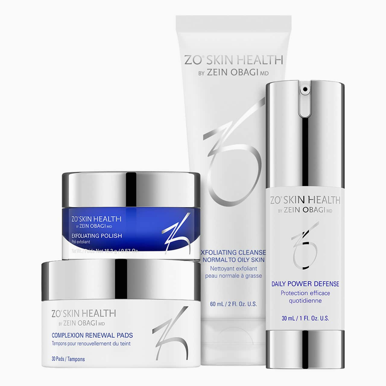 ZO Skin Health Phase 1 Daily Skincare Program